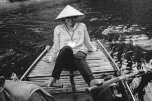 Trang An Boat Lady